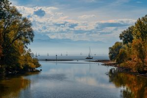 Dauercamping am Bodensee